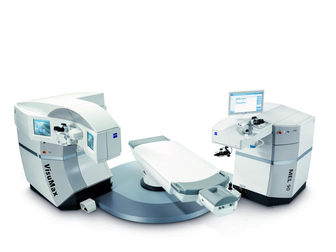德国蔡司VisuMax全飞秒SMILE3.0+MEL90屈光手术平台